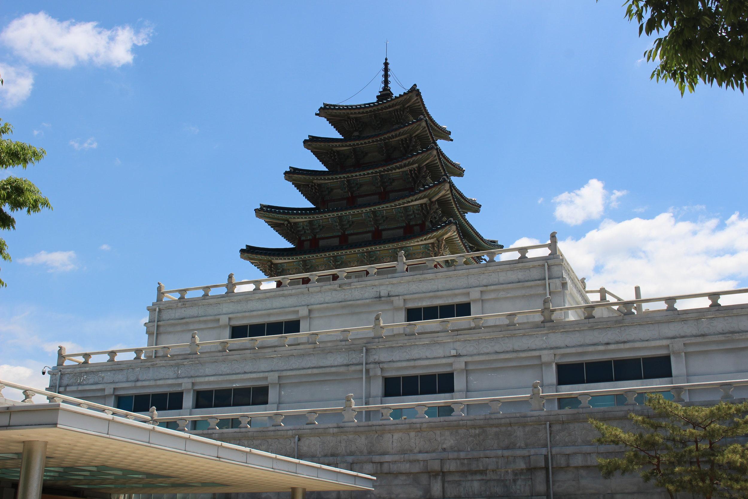 Pagodas in Seoul