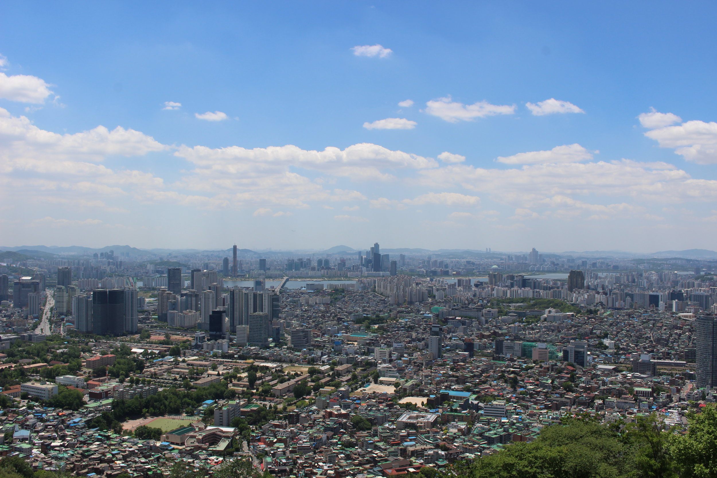 View of Seoul from Namsan Seoul Tower