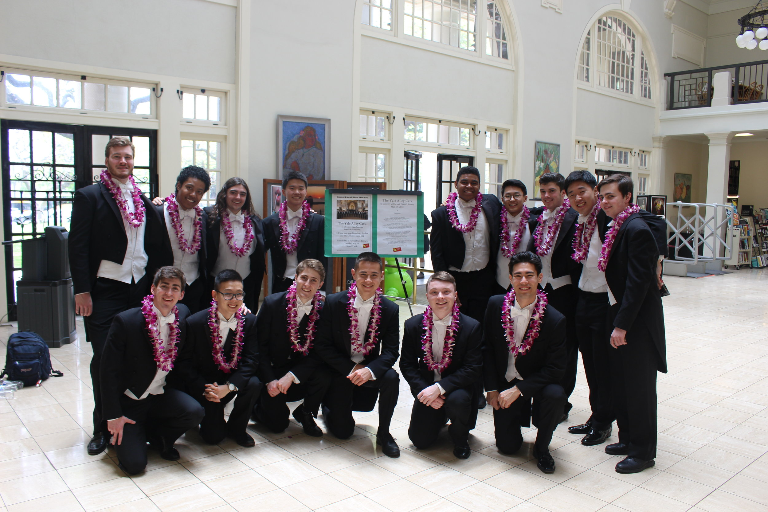 Singing for the Hawaii Public Library