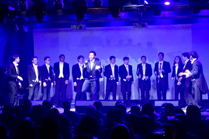 """Kaori singing """"Get Ready"""" at our concert with Syntonia A Cappella in Beijing"""