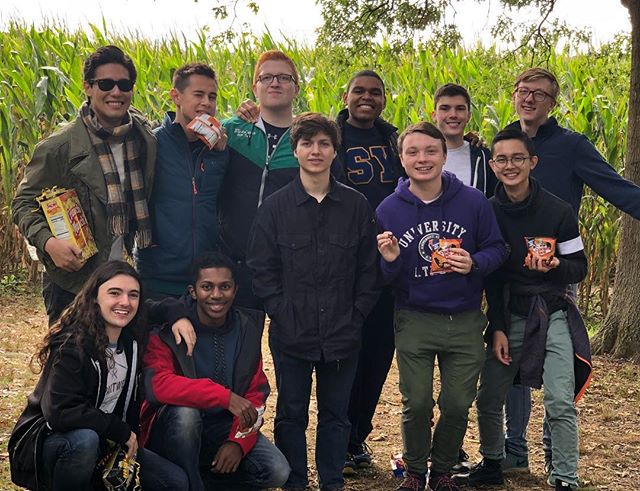 Last weekend, we took our annual trip to the Preston Farms Corn Maze for a little friendly competition between voice-parts~ The win goes to Team Baritone (at least until next year)!