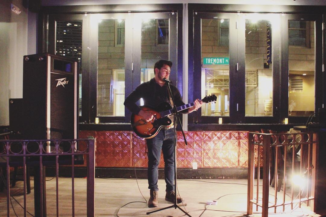 Gilly Assuncao - 6B Lounge Open Mic in Boston
