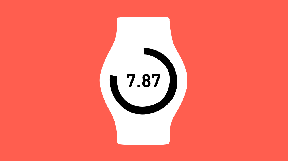 A watch concept that divides the day into base 10 units that are easier on the mind.