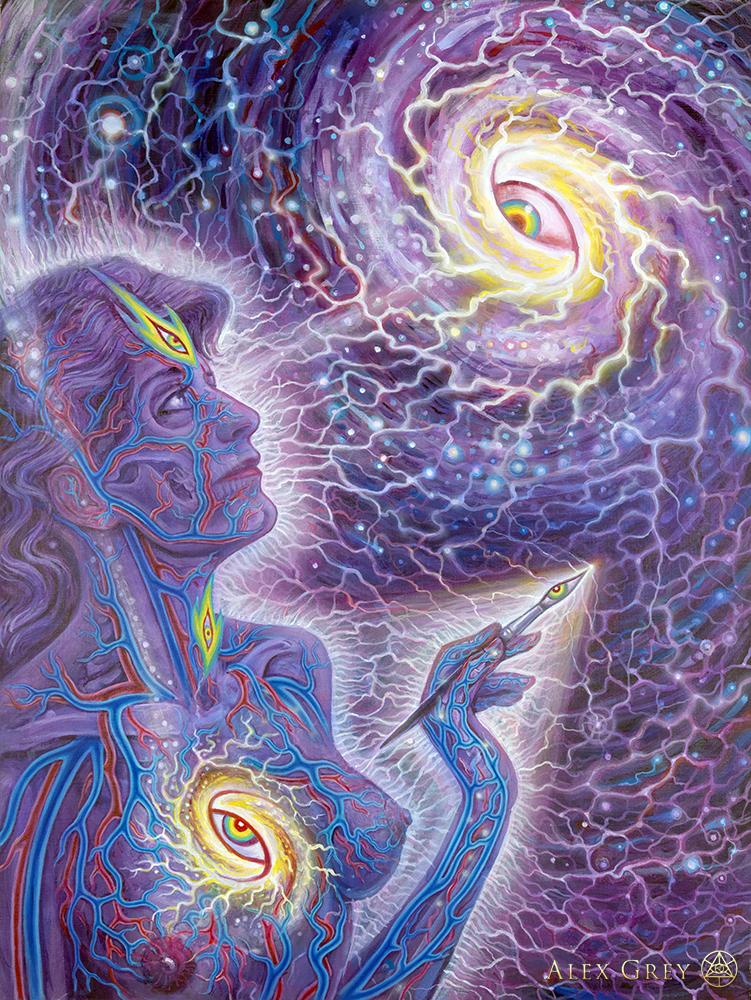"""Cosmic Creativity,"" Alex Grey"