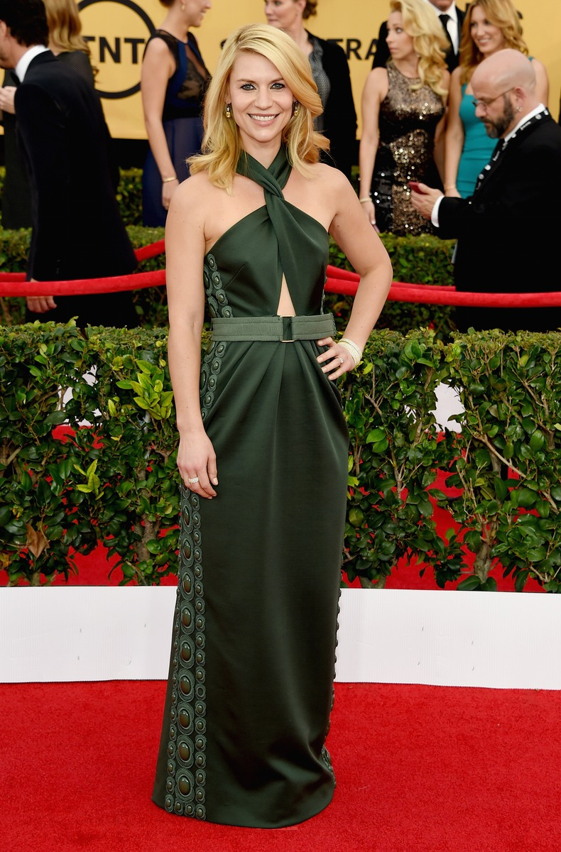 Claire danes attending the 2015 sag awards