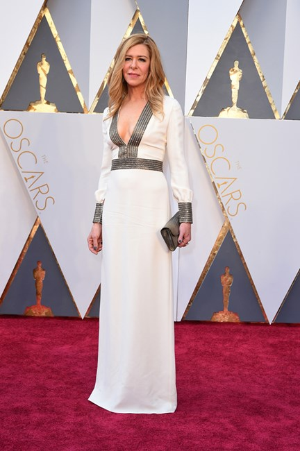Dede Gardner at the 2016 Oscar Awards