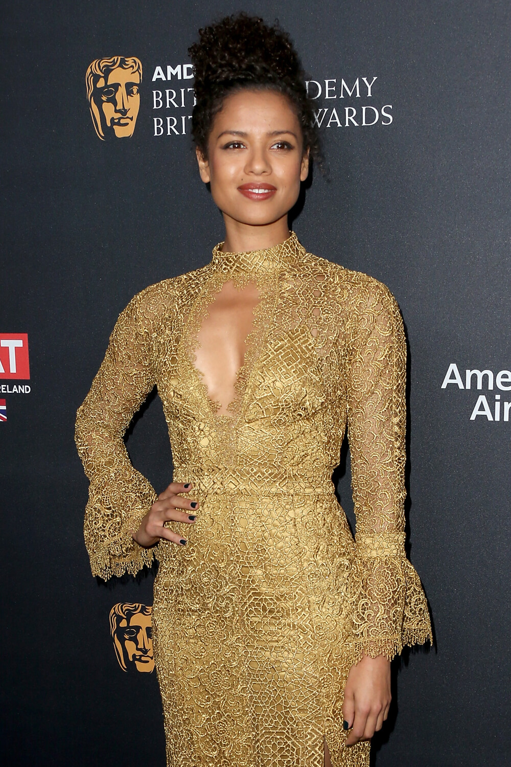 Gugu Mbatha-Raw at the AMD Britannia Awards (2016)