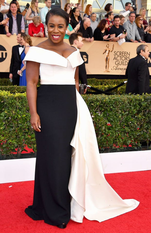 Uzo Aduba At the 2017 SAG AWARDS: Winner in the Outstanding Performance by a Female Actor in a Comedy Series - Orange is the New Black
