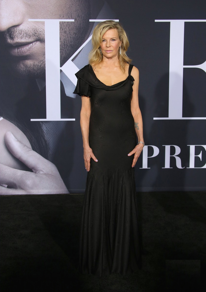 Kim Basinger at her premiere of the movie, 'Fifty Shades Darker'