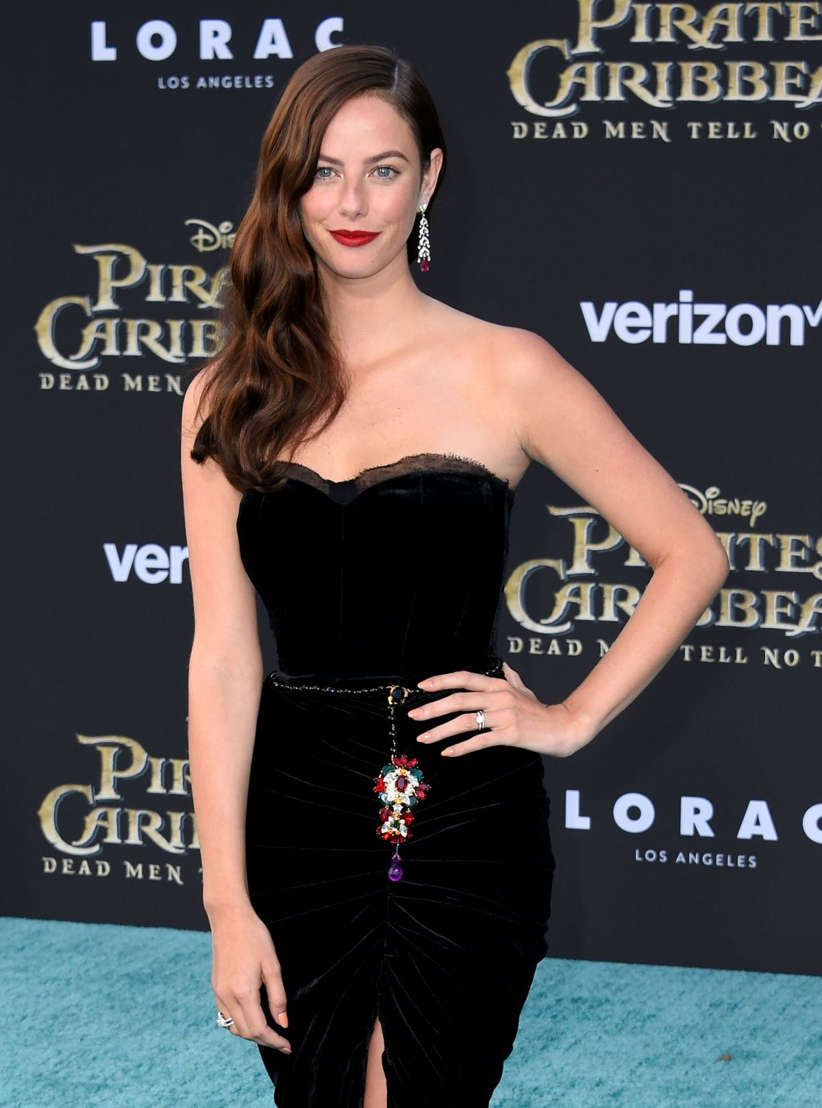 Kaya Scodelario at the 'Pirates of the Caribbean: Dead Men Tell No Tales' Hollywood premiere