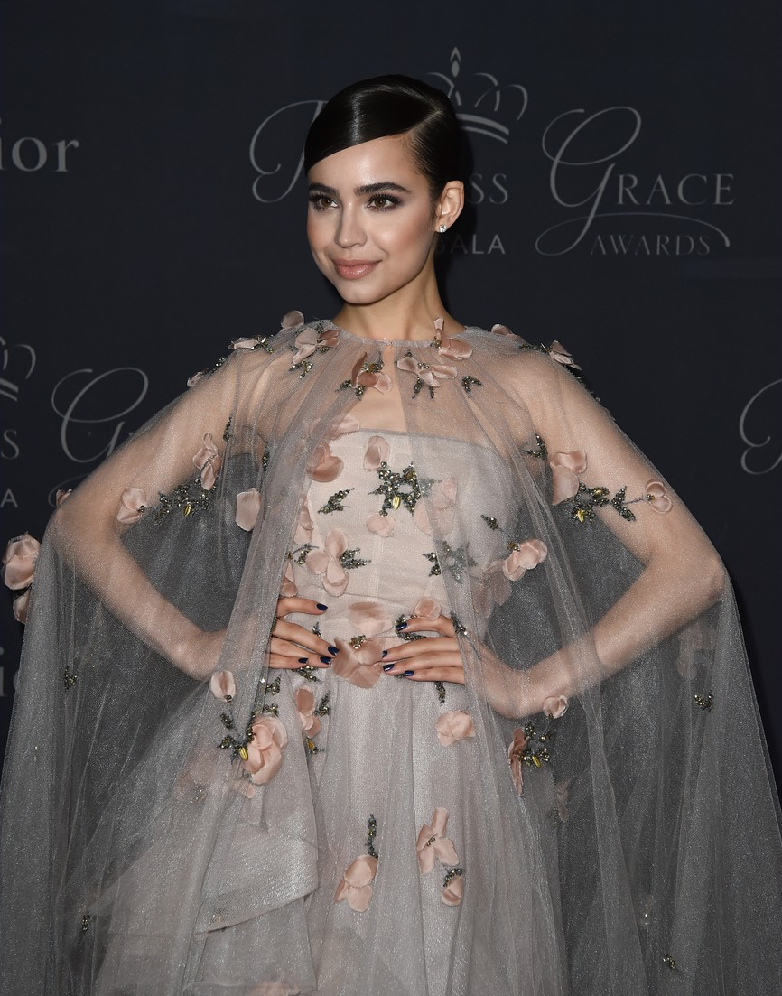 Sofia Carson attending the Princess Grace awards Gala 2017