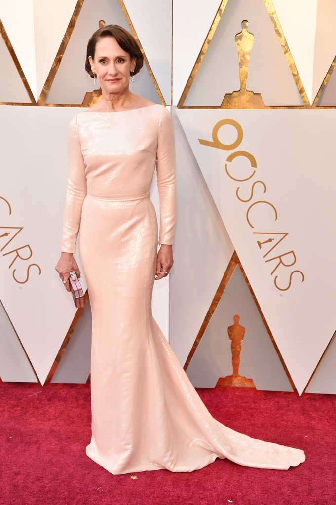 Laurie Metcalf on the Red carpet of the 2018 Oscars