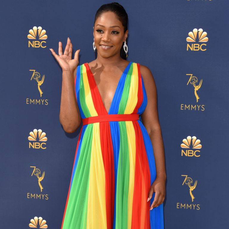 Tiffany Haddish at the 2018 Emmys