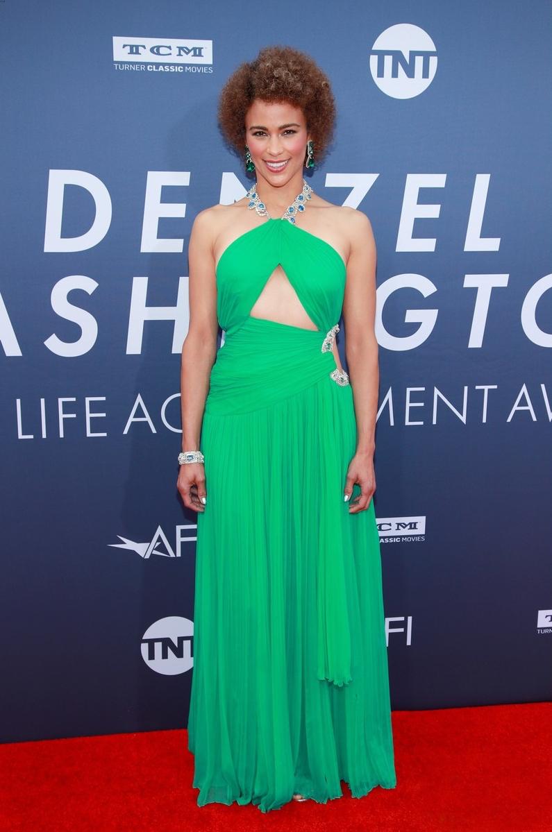 Paula Patton attends AFI's (American Film Institute)  Life Achievement award for Denzel Washington