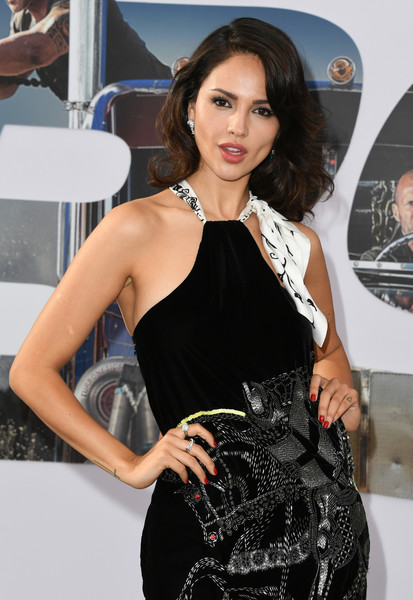 Eiza Gonzales At her movie premiere of Hobbs And Shaw