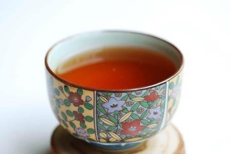Honey Scented black tea brewed.