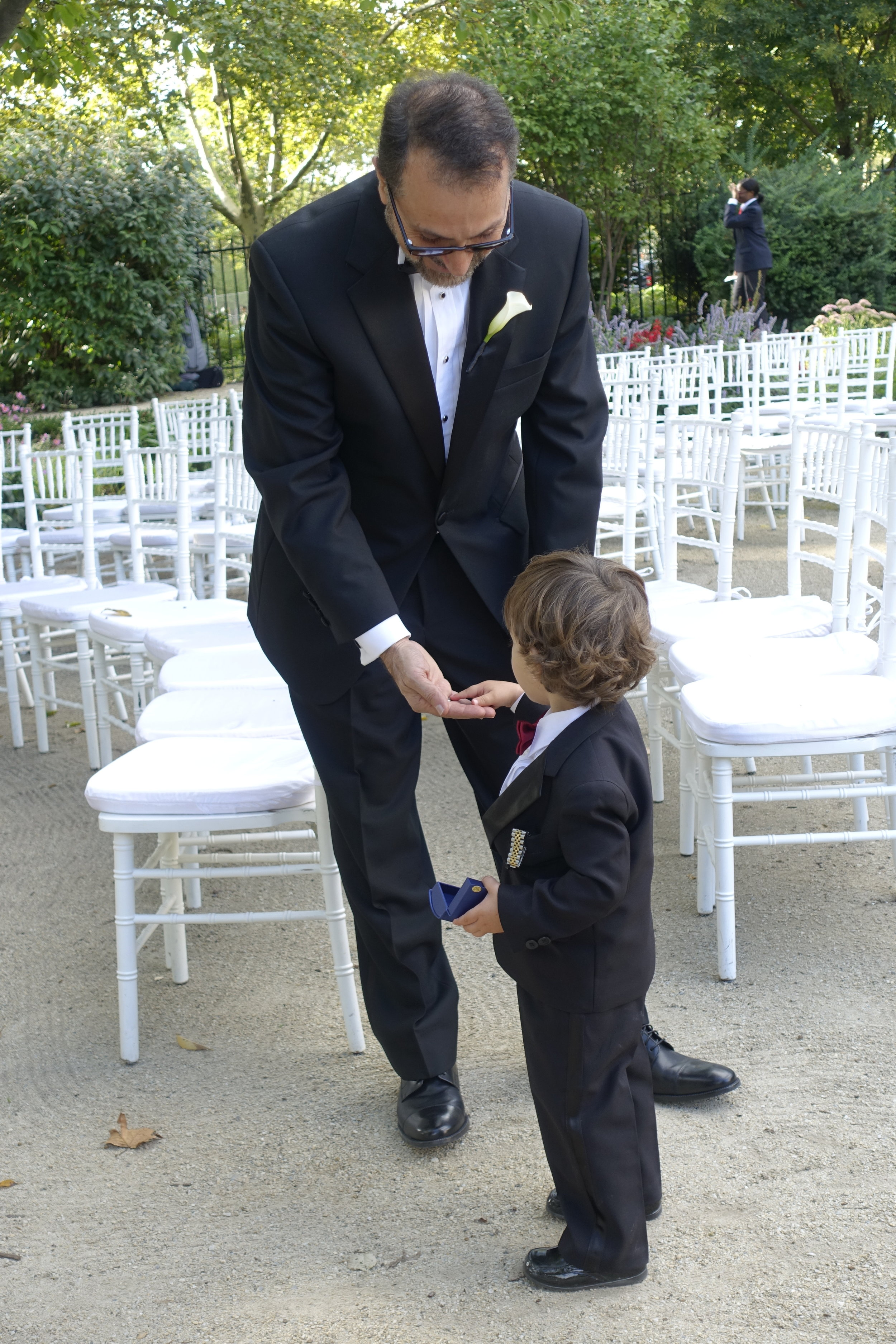 grandfather and the ring bearer