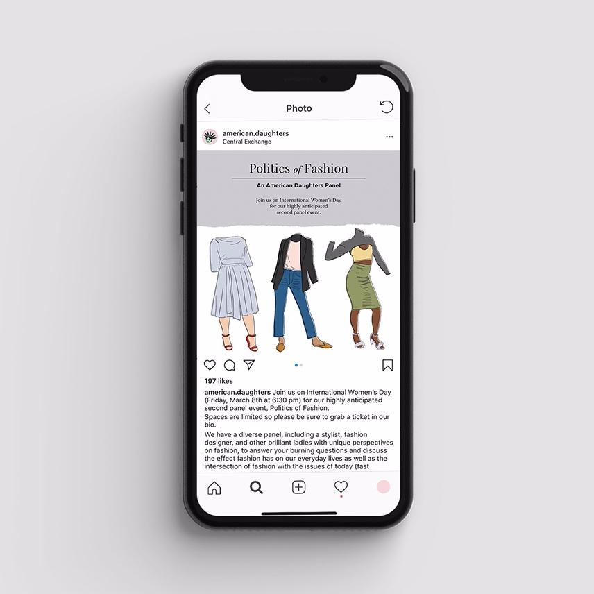 Politics of Fashion Social Post