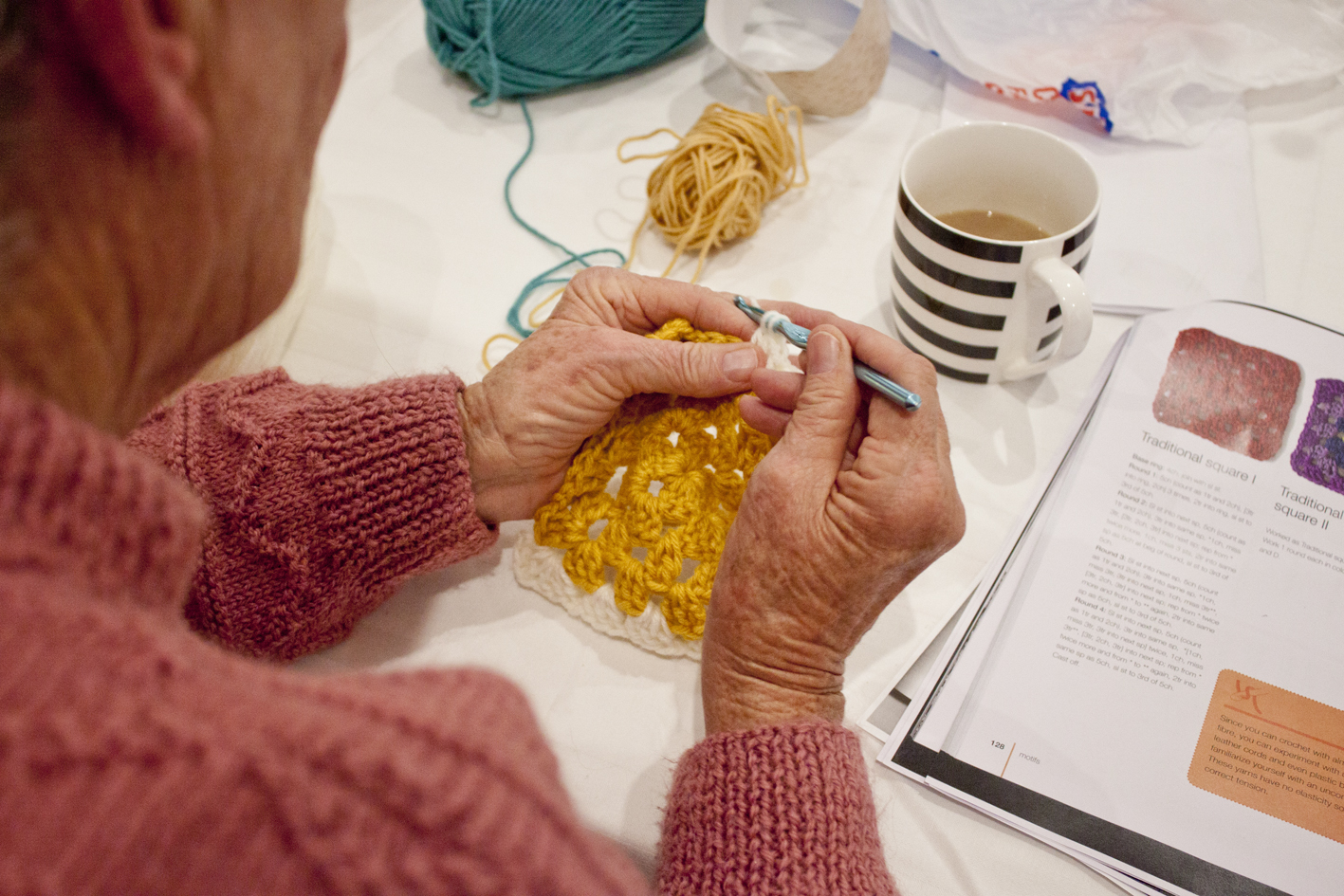 Crochet for beginners workshop - Madeline Young