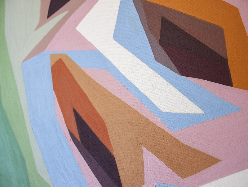 Madeline Young Australian artist - bold, graphic paintings of Australian Natives