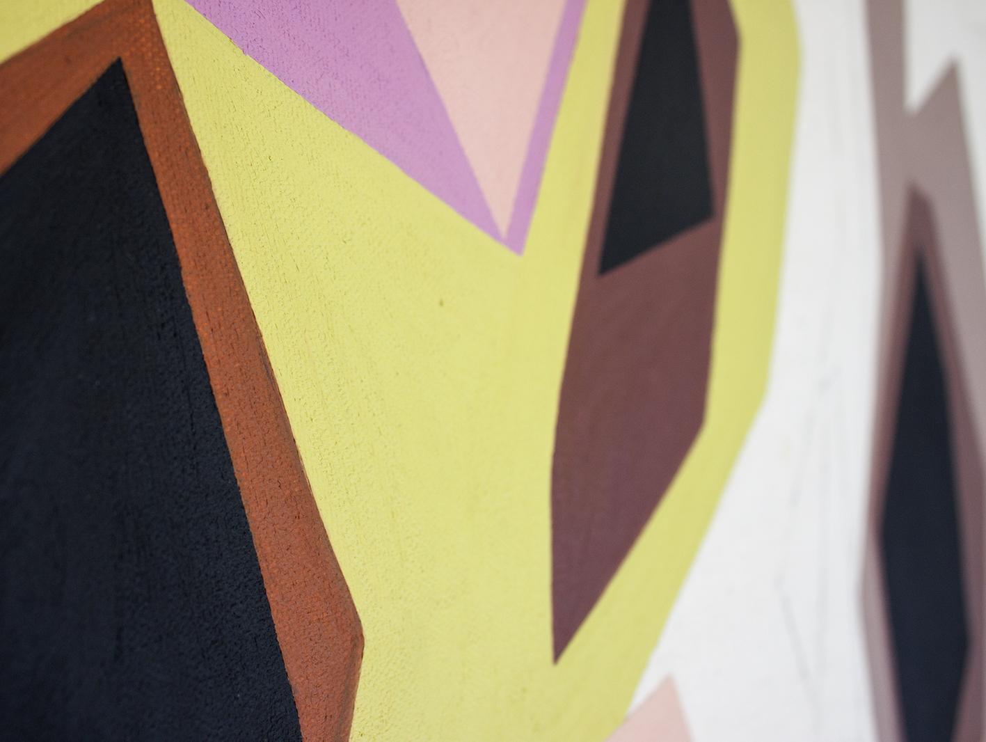 Madeline Young Australian artist - progress shots