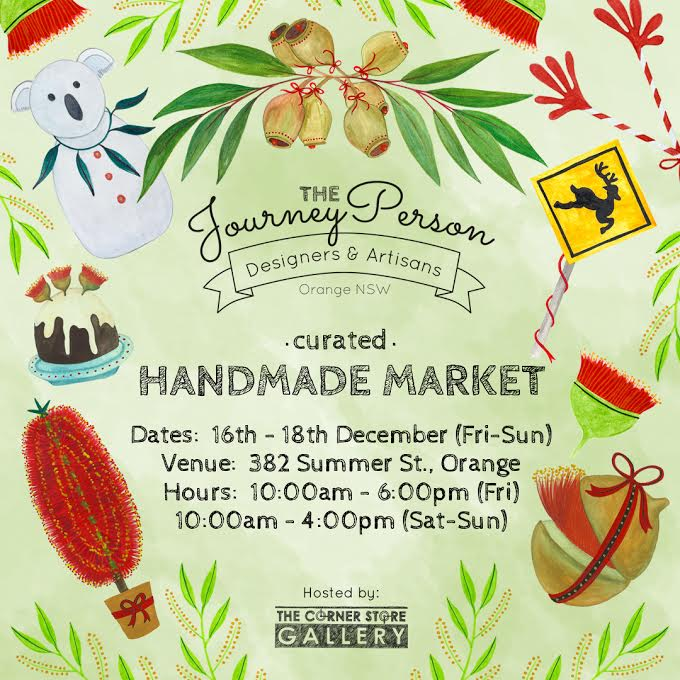 The JourneyPerson Handmade Market, Orange NSW