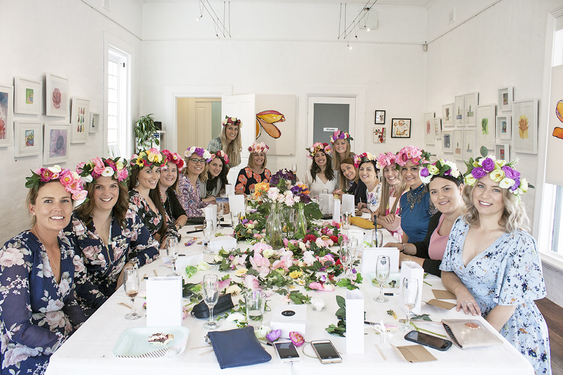 Flower Crown Hens Party with Madeline Young