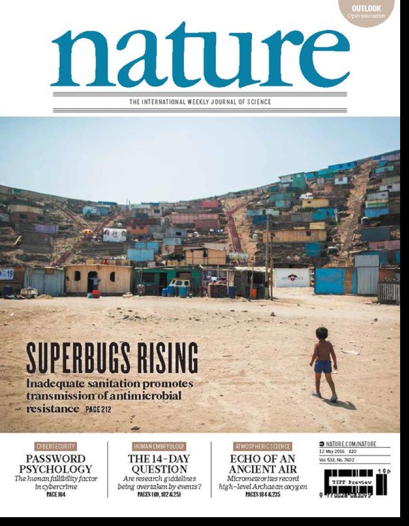 Pehrsson, Tsukayama  et al.   Nature 2016