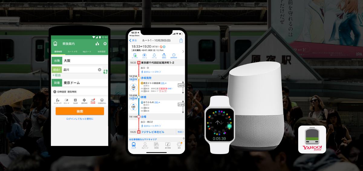 Yahoo! Transit - UI Design, UX Design, Web Design