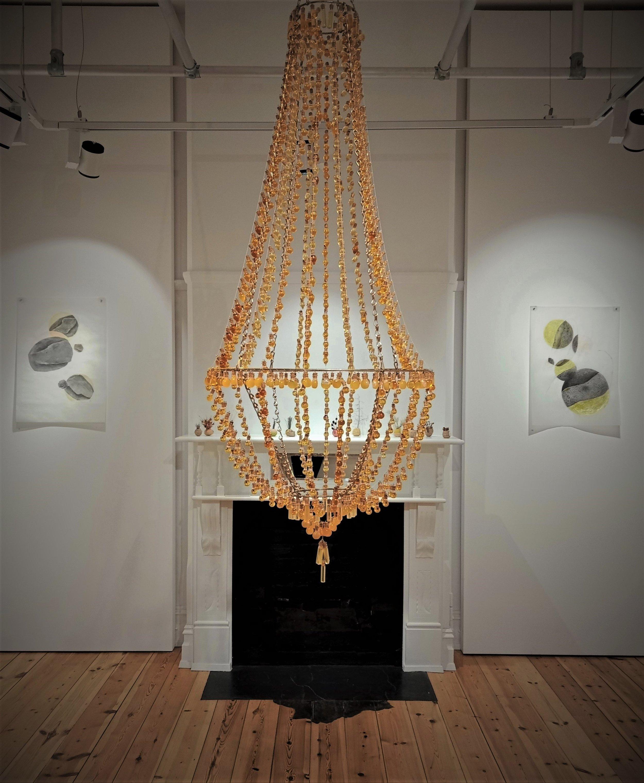 2365 Stories (honey chandelier)