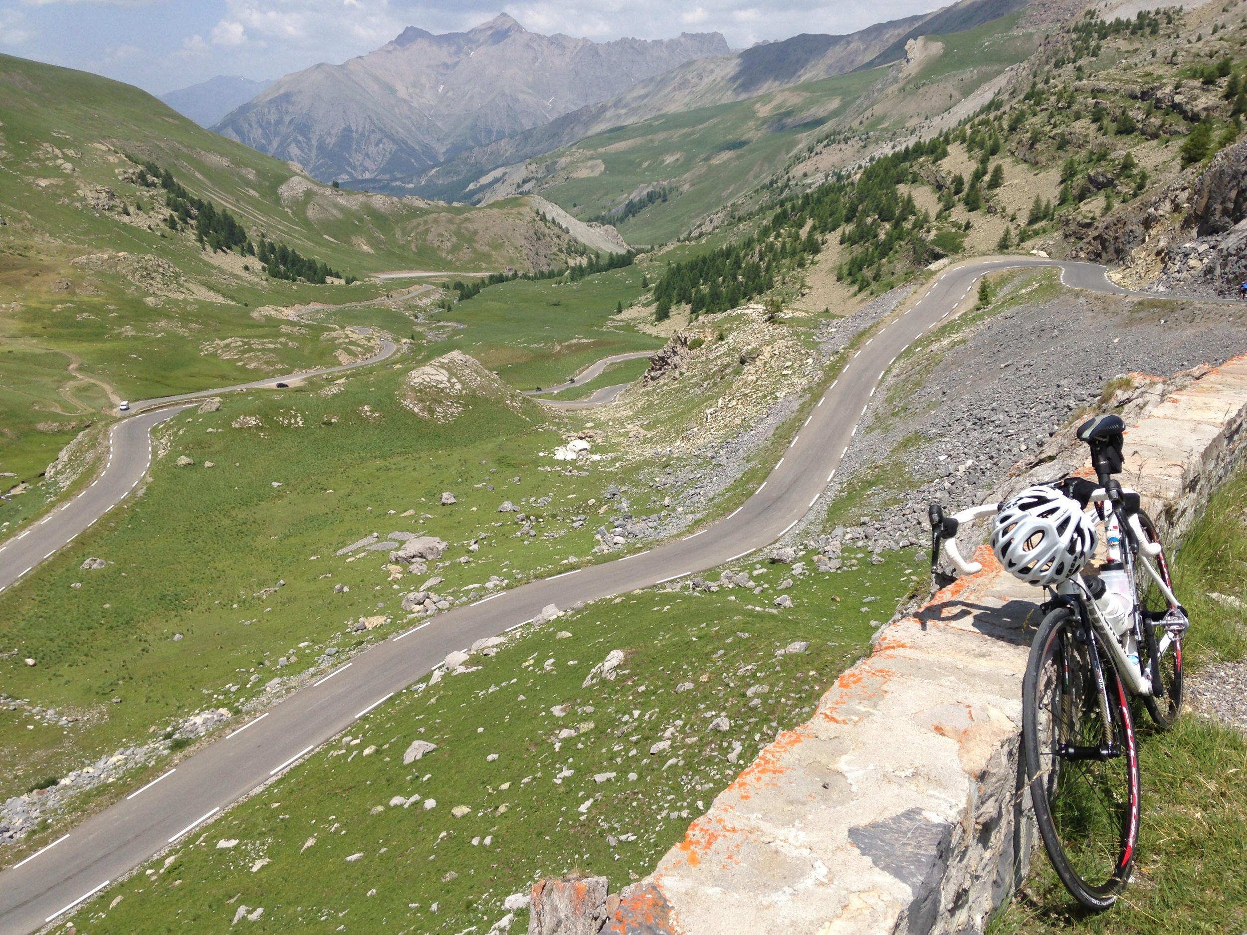 Col de la Bonette - the highest paved road in the Alps
