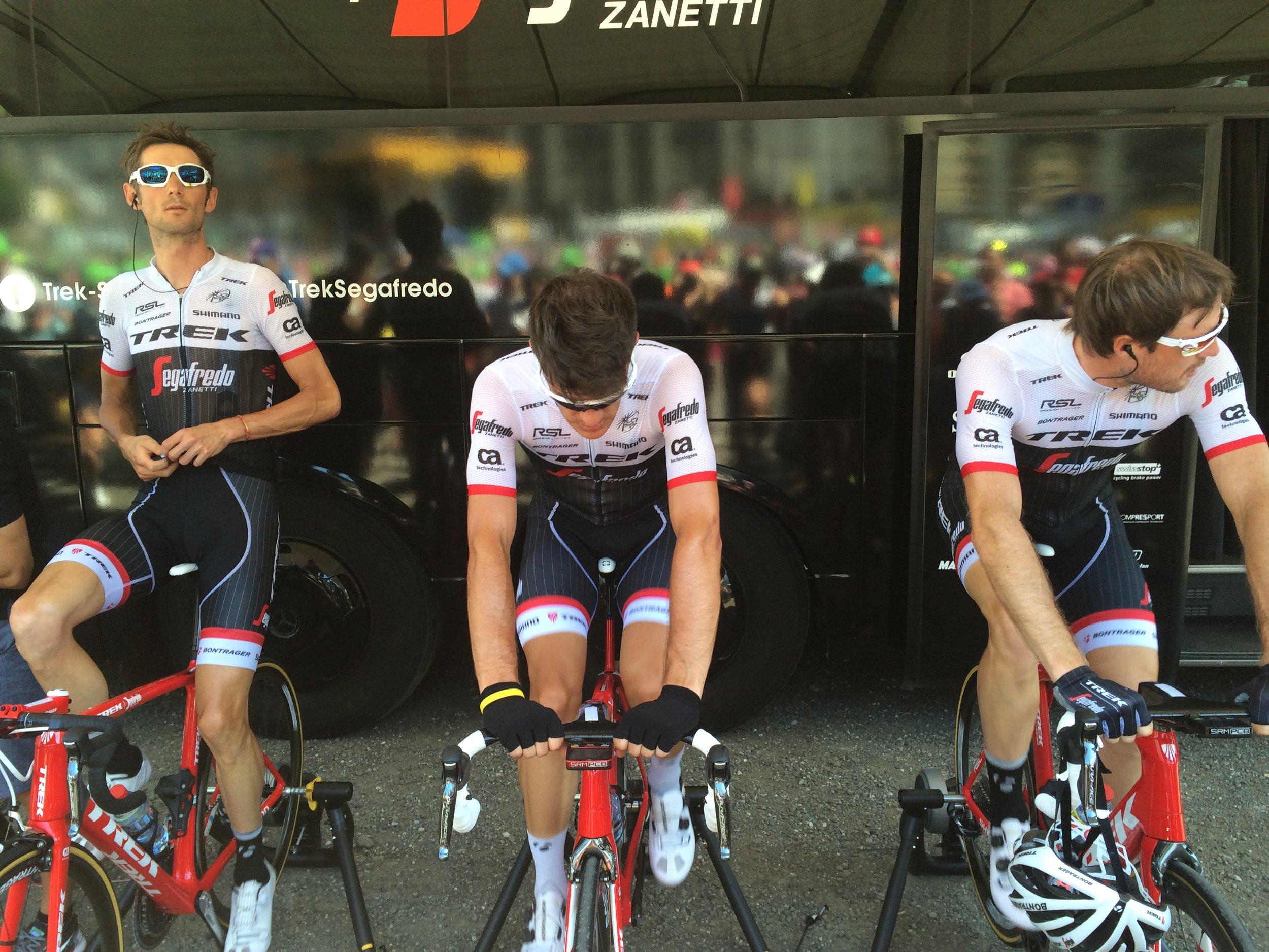 Up-close & personal -Stage Start in Vielha, Spain, Tour de France tour 2016