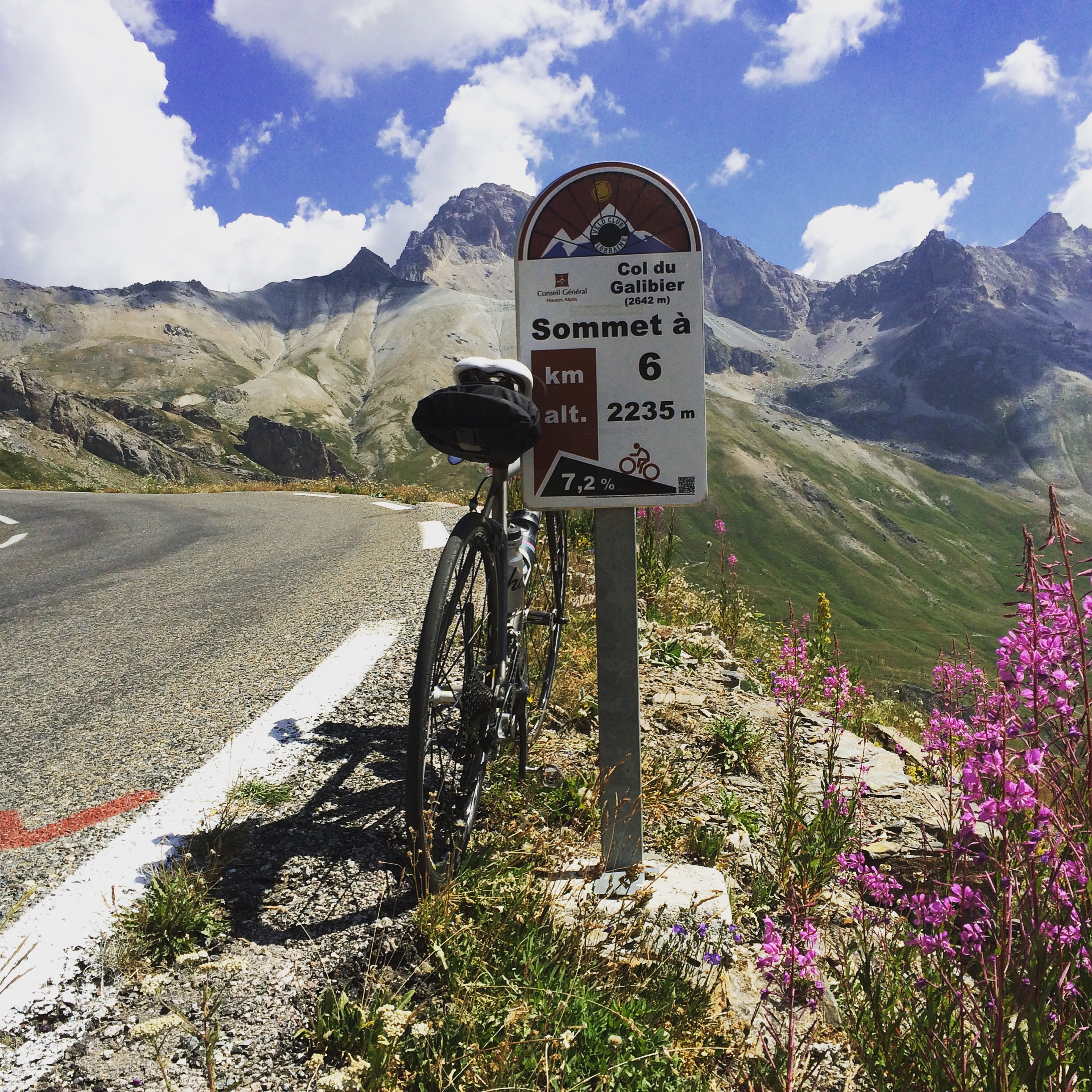 The Col du Galibier!
