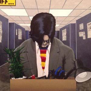 """Logan Mcquag """"Super Recession"""" superman painting."""