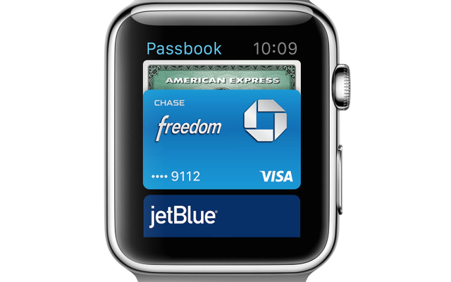 seamlessly pay for drinks on apple watch