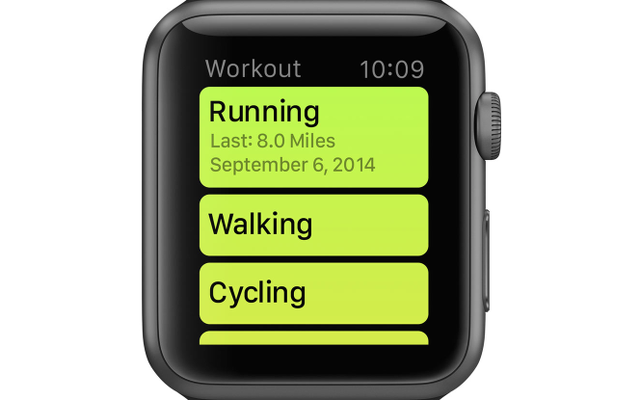 cocktail suit into running suit apple watch