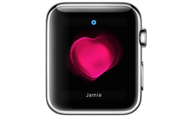 apple watch heart beat