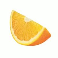 orange wedge to garnish