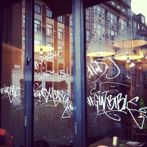 Graphic exterior soho