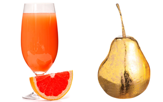 Grapefruit juice and golden pear.png