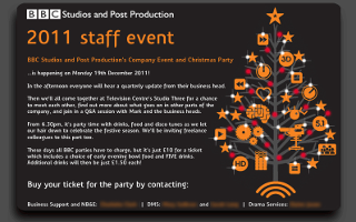 BBC Staff event