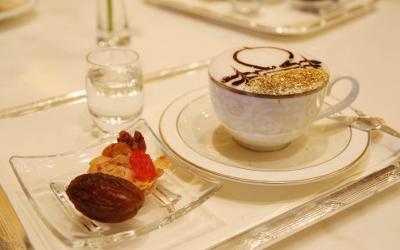 golden cappuccino