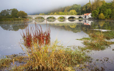 The bend in the river Cappoquin. Photo credit: John Foley