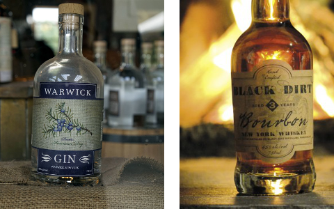 warwick gin and whisky