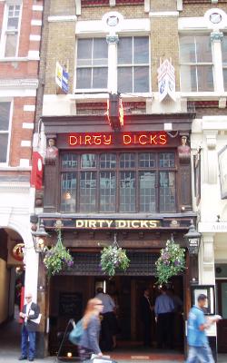 dirty dicks pub bishopsgate