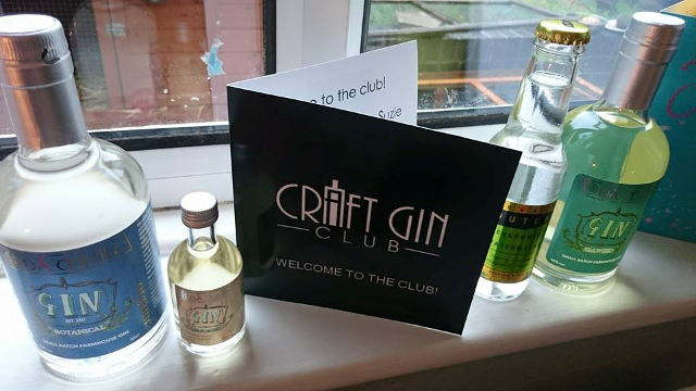 Classy Craft Gin Club Gift card