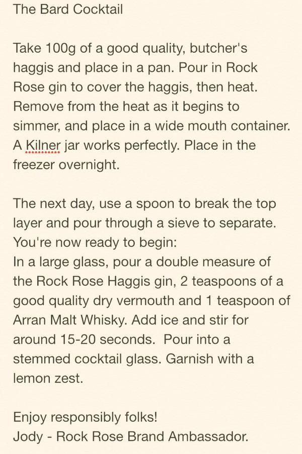 rock rose cocktail