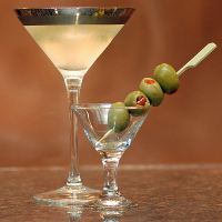 gin cocktail party martini gimlet