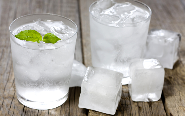 gin cocktail party ice