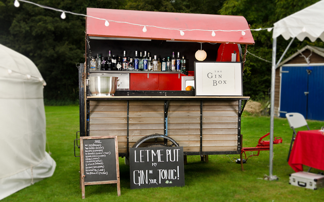 gin mobile bar